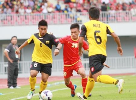 TRỰC TIẾP U23 Việt Nam 7-0 U23 Brunei H2 Phi Sơn lập cú đúp