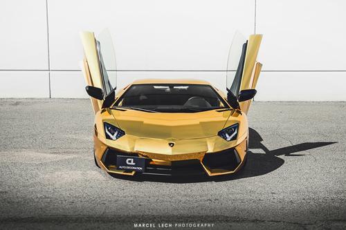 Diện kiến bộ đôi siêu xe Lamborghini Aventador đẹp nhất thế giới