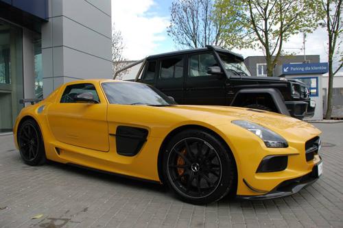 """Tin tức siêu xe: """"Chất lừ"""" bộ đôi Mercedes-Benz SLS và G63 AMG"""