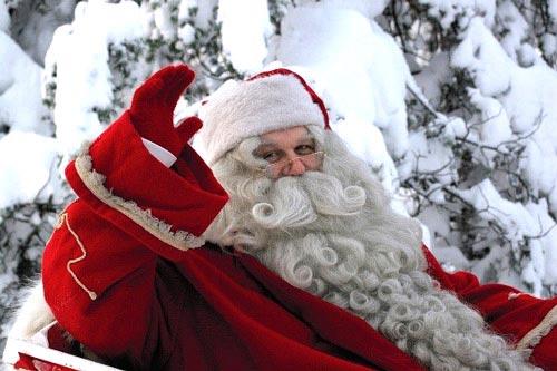 bộ đôi ông già Noel và... bà già Noel