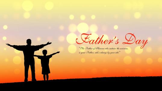 Lung linh với thiệp đẹp dành cho cha