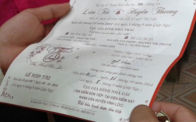Viện trưởng VKS tổ chức đám cưới con tại cơ quan bị kiểm điểm - ảnh 1