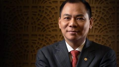 Phạm Nhật Vượng: Tỷ phú Việt tiếp tục được Forbes vinh danh
