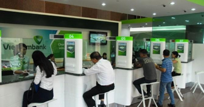 Vietcombank dư nợ tín dụng đến 31/5 tăng 3,63\%