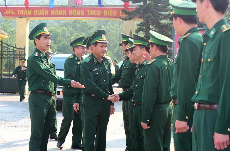 Pho Tư Lệnh Bđbp Việt Nam Thăm Va Lam Việc Tại Bđbp Ha Tĩnh