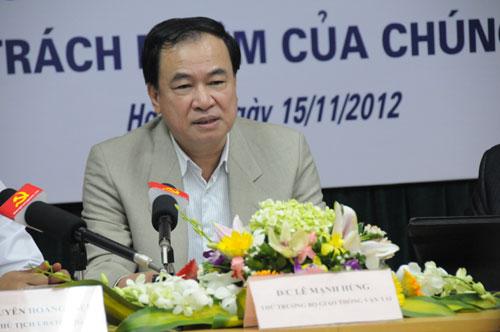 Cựu Thứ trưởng Bộ GTVT: