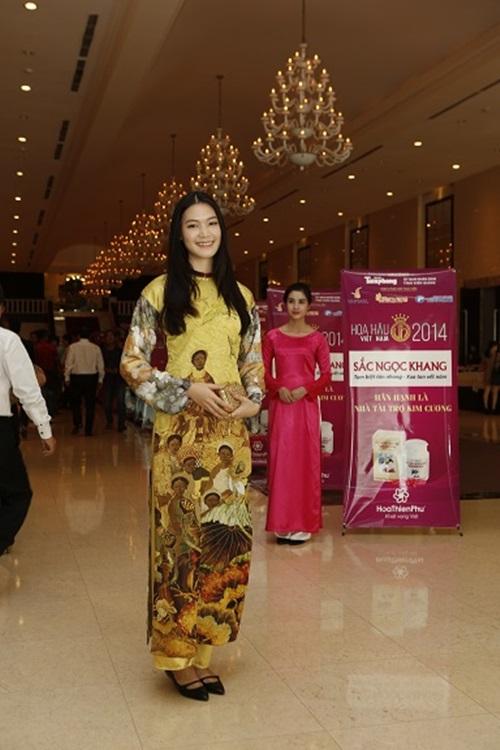 Hoa hậu Việt Nam Thùy Dung, Đặng Thu Thảo cùng khoe sắc