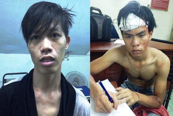 Trinh sát bắt cướp giật điện thoại giữa Sài Gòn