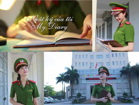 Xem clip nhật ký của nữ sinh học viện cảnh sát
