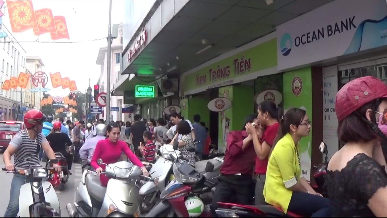 Kem Tràng Tiền – hương vị mùa hè quen thuộc của người Hà Nội
