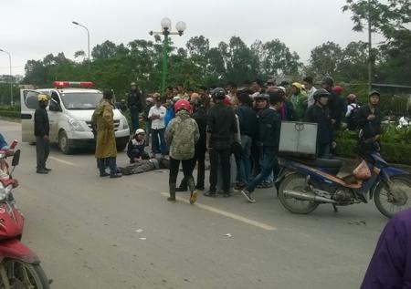 Hà Nội: Tông chết người, xe gây tai nạn thờ ơ biến mất - ảnh 1