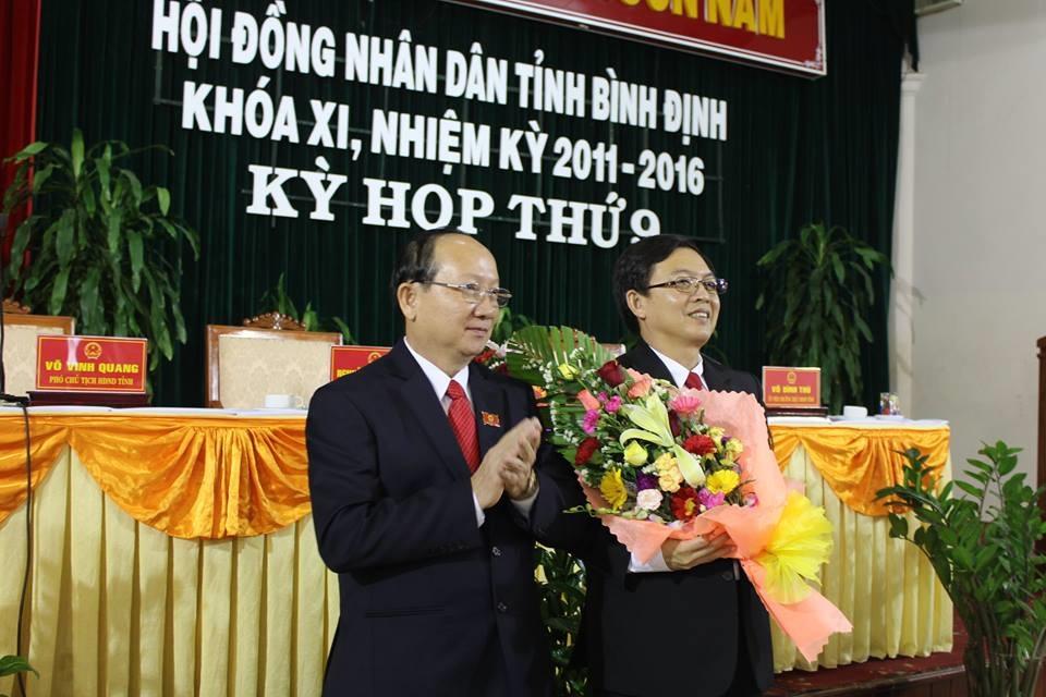 Bình Định có tân chủ tịch UBND tỉnh