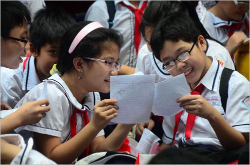 Từ năm 2018, áo dụng sách giáo khoa mới ở cả 3 cấp học