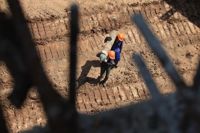Cầu vòm ống thép đầu tiên tại Việt Nam trên sông Đuống - ảnh 1