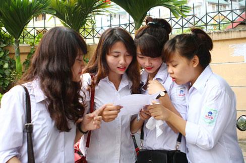 Điểm thi vào lớp 10 năm 2014 Hà Nội và TP.HCM