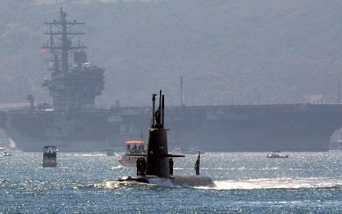 Tàu ngầm tàng hình đe dọa Hải quân Mỹ - ảnh 1