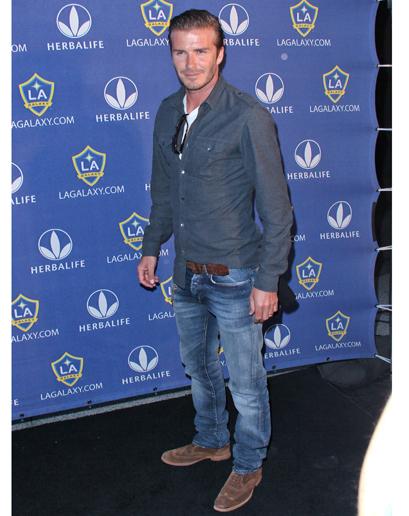 Gu thời trang đẳng cấp của David Beckham