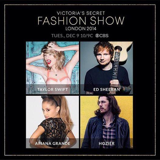 Taylor Swift 2 năm liền tham gia Victoria's Secret Fashion Show