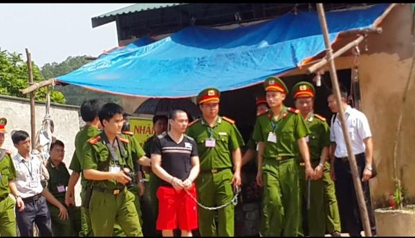 Dẫn giải Lý Nguyễn Chung đi dựng hiện trường vụ Nguyễn Thanh Chấn