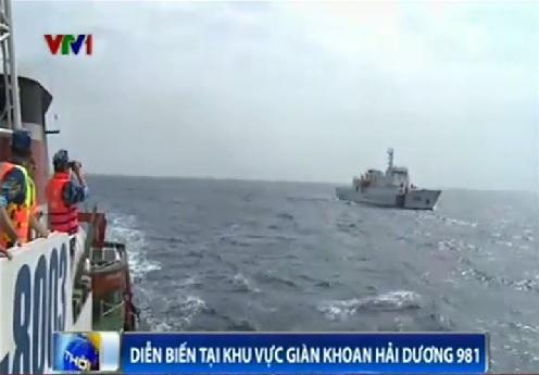 Tình hình Biển Đông:Xuất hiện 2 tàu TQ mới tại khu vực giàn khoan