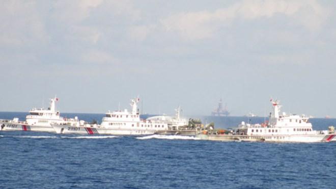 Tình hình Biển Đông 13/6:Tàu TQ chặn mọi hướng di chuyển tàu VN