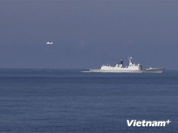 Tình hình Biển Đông 7/7: TQ lại huy động máy bay ra giàn khoan