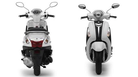 Yamaha ra mắt xe ga tiết kiệm xăng, giá 40 triệu đồng