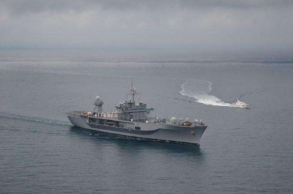 Tàu chiến Mỹ bất ngờ tới biển Đen, huấn luyện với Gruzia