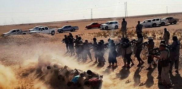 IS thảm sát hơn 300 thành viên bộ tộc chống đối