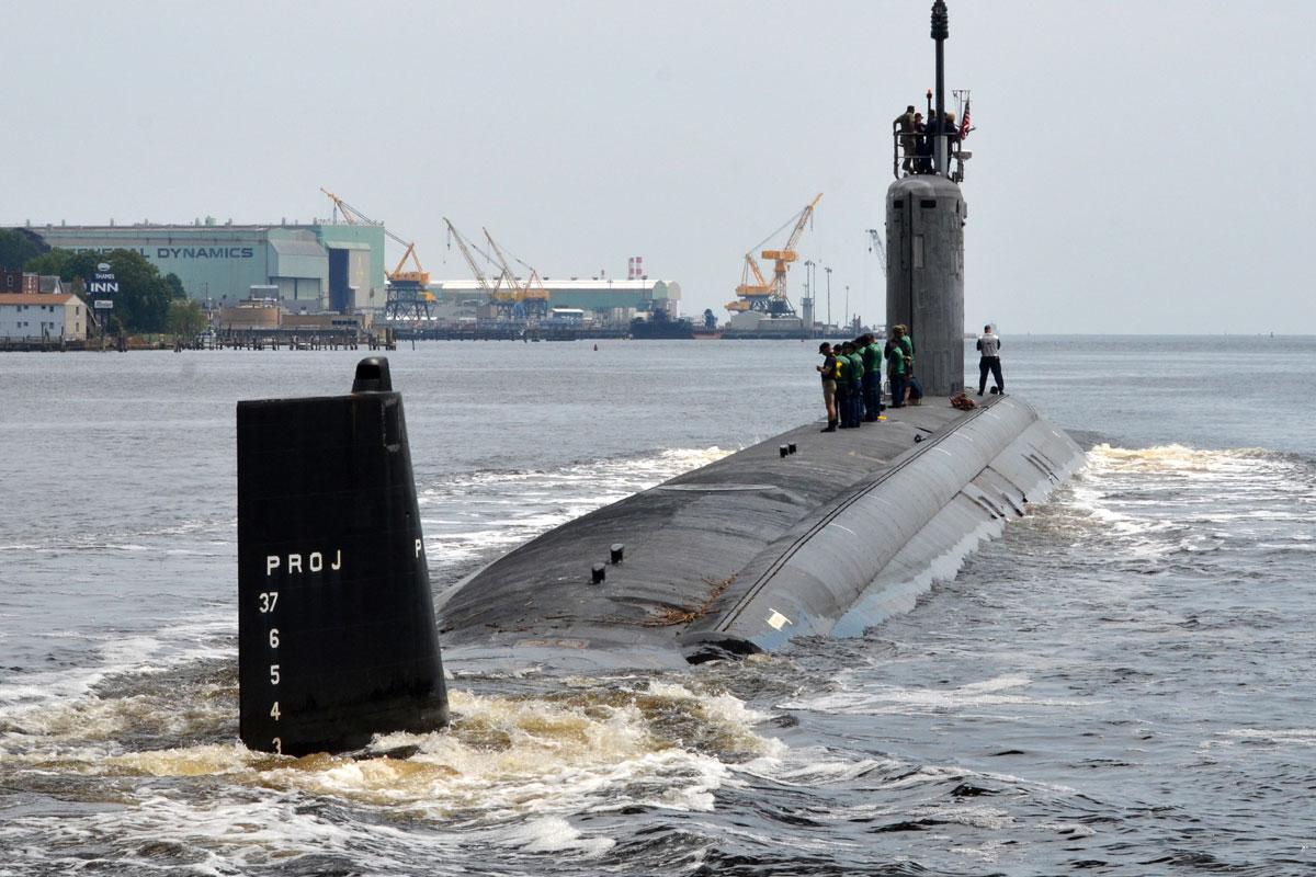 Rúng động thủy thủ nữ bị quay lén trên tàu ngầm hạt nhân Mỹ
