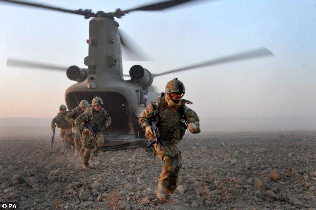 Hoàng gia Anh cử đặc nhiệm SAS đến Iraq hỗ trợ nhân đạo