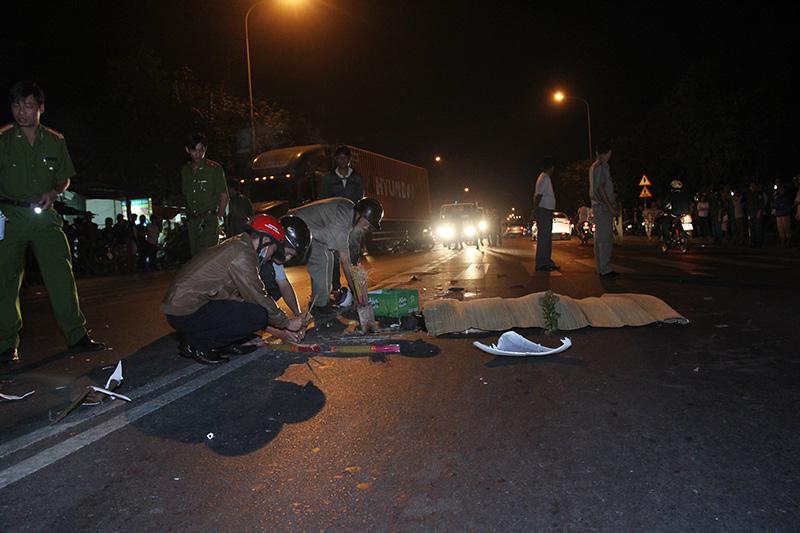 Bình Dương: Va chạm xe máy, 3 người thương vong - ảnh 1
