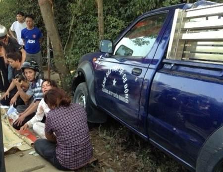 Khởi tố vụ xe công an đâm chết 2 người tại Tuyên Quang - ảnh 1