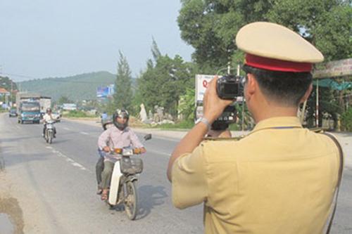 Kết quả hình ảnh cho mức phạt tốc độ xe máy