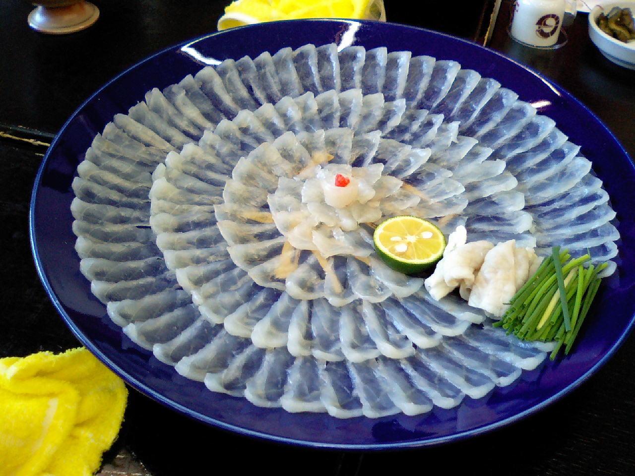 Món Fugu thịt cá nóc