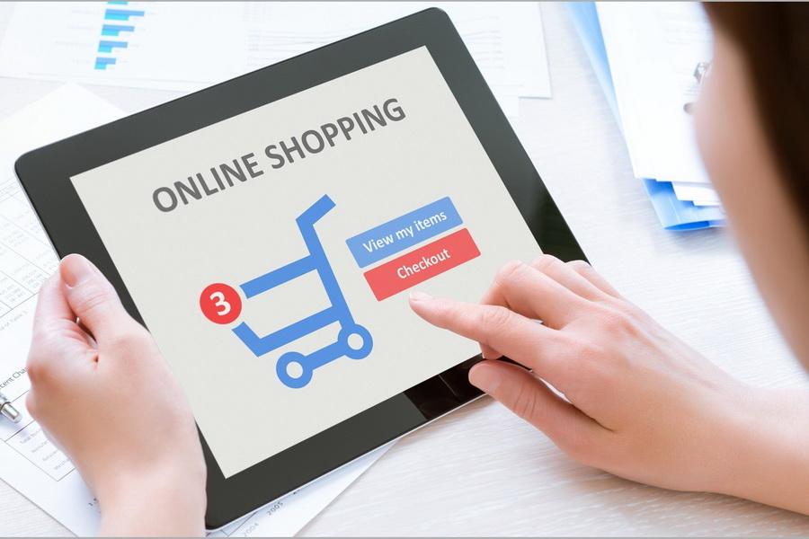 Kết quả hình ảnh cho mua hàng online