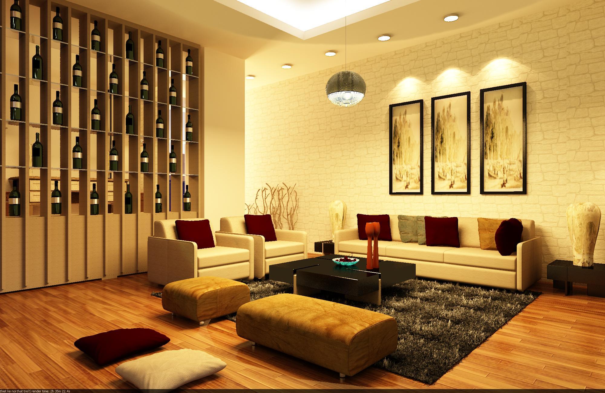 Phong cách thiết kế nội thất với đồ dùng ánh kim vàng đồng