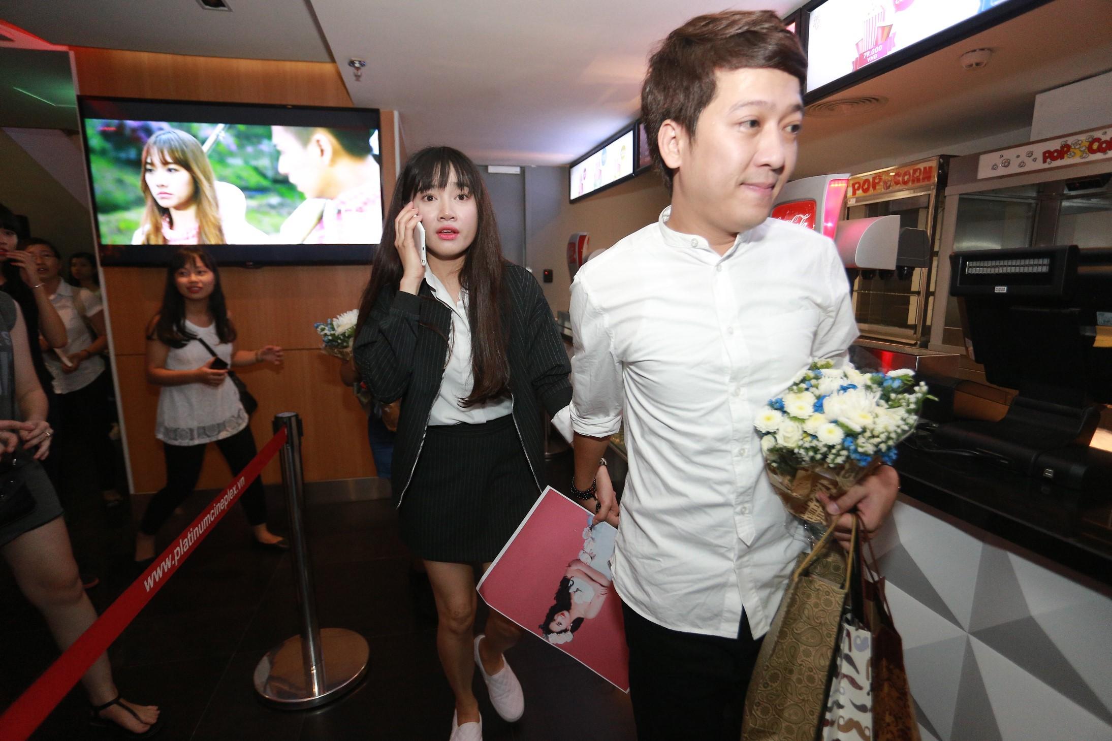 Nhã Phương công khai thừa nhận yêu Trường Giang trên truyền hình
