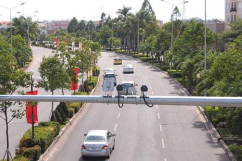 Hỗ trợ giao thông bằng camera