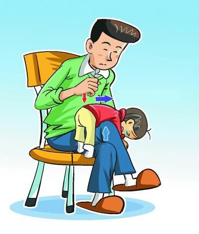Kết quả hình ảnh cho xử lý khi trẻ bị hóc dị vật