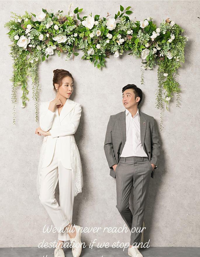 Cường Đô La đăng ảnh cưới với Đàm Thu Trang? - ảnh 1