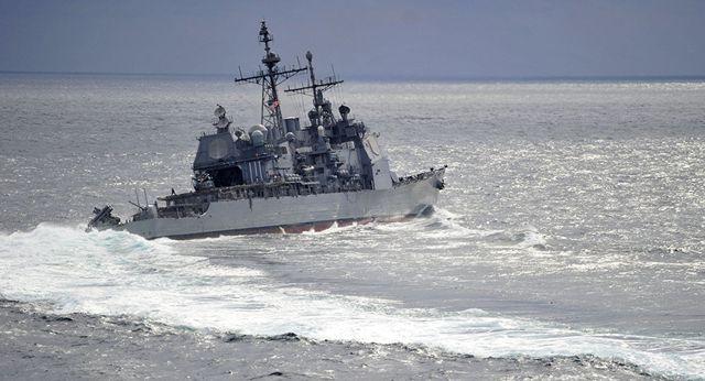 Moscow cáo buộc tuần dương hạm Mỹ cắt mặt tàu khu trục Nga ở biển Hoa Đông - ảnh 1