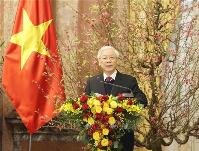 Tổng Bí thư, Chủ tịch nước Nguyễn Phú Trọng chúc Tết đồng bào, đồng chí và chiến sĩ cả nước - ảnh 1