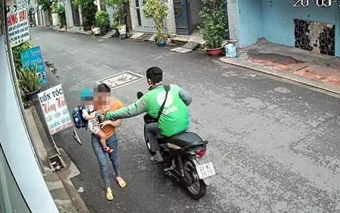 """Lời khai của tài xế Grabbike cướp điện thoại """"nhanh như chớp"""" ở TP.HCM - ảnh 1"""