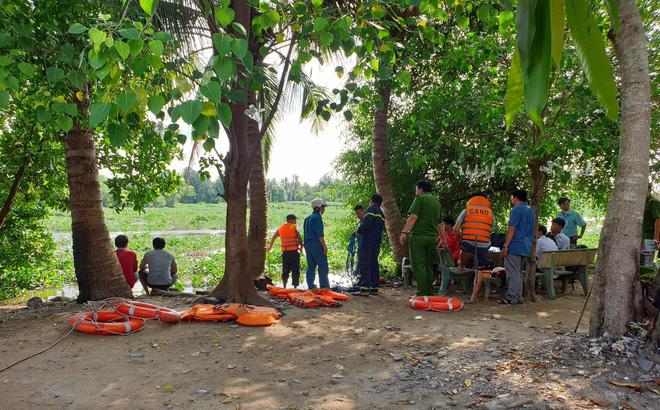 Bình Dương: 5 học sinh cấp 2 tắm sông Sài Gòn, 1 em mất tích - ảnh 1