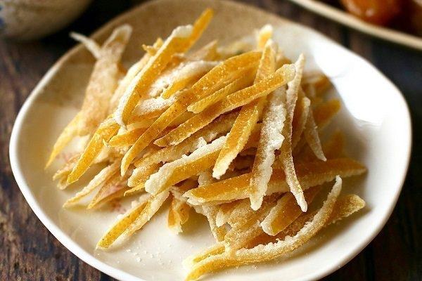 Hô biến vỏ trái cây thành những món ăn vặt siêu ngon - ảnh 1