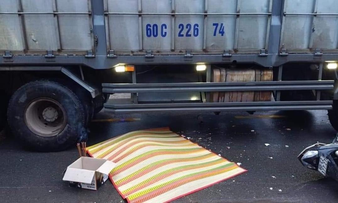 Đồng Nai: Người đàn ông tử vong sau va chạm giữa xe máy và xe tải - ảnh 1
