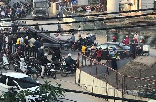 Hà Nội: Bắt giữ xe tải đâm chết người rồi bỏ chạy - Ảnh 1