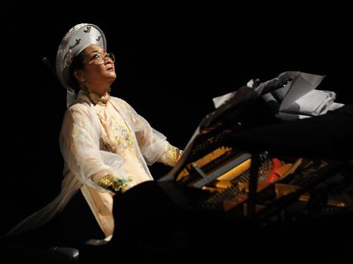 NS Piano Phó An My: Âm nhạc bác học và âm nhạc dân gian cùng nhau thăng hoa - Ảnh 2