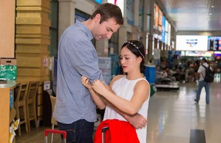 Diễn viên Lan Phương tiết lộ mang bầu 5 tháng với vị hôn phu ngoại quốc - ảnh 1